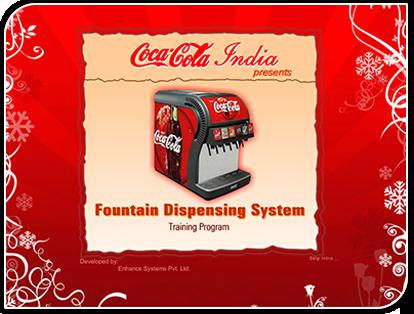 Coke Fountain for FMCG