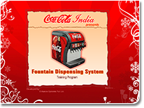 Coke Fountain for FMCG