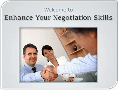 Enhance Your Negotiation Skills