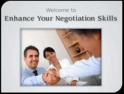 Enhance Your Negotiation Skills